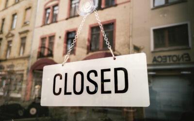 Why Do Businesses Close?